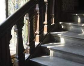 Alternatives à tapis sur l`escalier фото