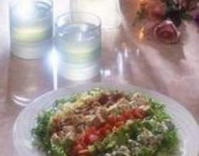 Cobb ingrédients de la salade фото