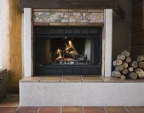 Idées de conception de tuiles cheminée фото