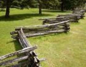 Les vieux types de clôtures fashioned фото