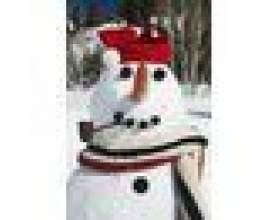 Jeux de bonhomme de neige d`amusement фото