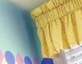 Combien de pouces cantonnières devraient être à travers une fenêtre? фото