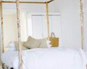 Comment construire un cadre de lit à baldaquin фото