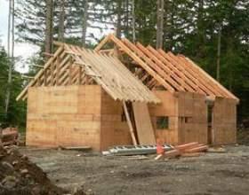 Comment construire une cabane à ossature de bois фото