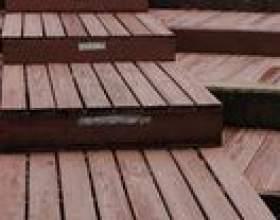 Comment construire des marches en bois plus de briques фото