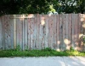 Comment calculer planches de clôture par pied фото