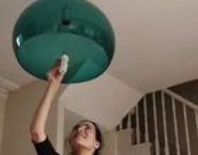 Comment changer une ampoule encastrée sur un haut plafond фото