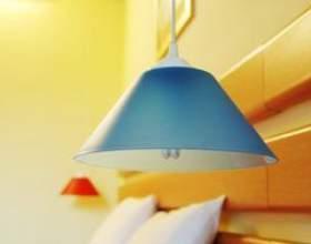 Comment changer l`éclairage fluorescent à l`éclairage pendentif фото