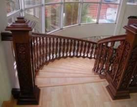 Comment couvrir les escaliers avec bois franc фото