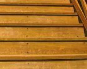 Comment combler les lacunes de la bande de roulement dans un escalier фото