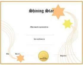 Comment créer vos propres certificats de concours de beauté фото