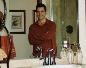 Comment couper les miroirs de salle de bain фото