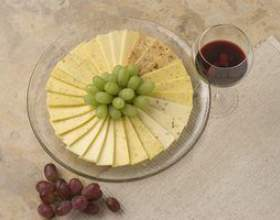 Comment décorer une assiette de fromages фото
