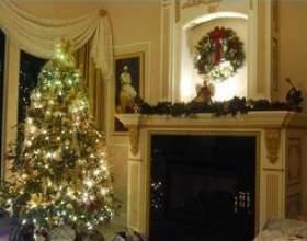 Comment décorer dessus d`un foyer фото