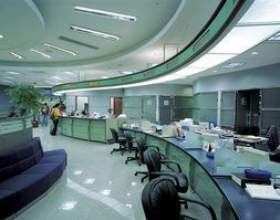 Comment décorer les bureaux de la banque фото
