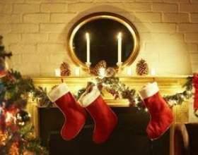 Comment décorer avec des bougies manteaux de cheminée фото
