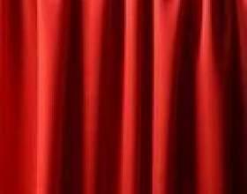 Comment décorer avec des rideaux rouges фото