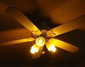 Comment déconnecter un ventilateur de plafond фото