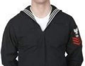 Comment plier les uniformes de travail navales фото