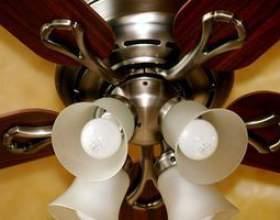 Comment fonder un ventilateur de plafond фото