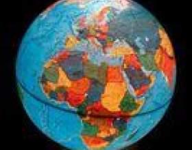 Comment faire un globe avec découpe continents фото