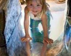 Comment faire un tunnel de jeu pour les enfants фото