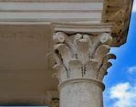 Comment faire des colonnes de plâtre фото
