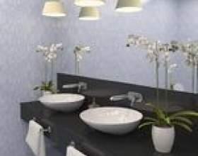 Comment monter un miroir sur un mur de salle de bains фото