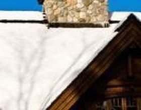 Comment enlever la neige des évents d`échappement sur le toit фото