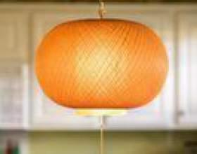 Comment raccourcir un cordon sur une lumière pendante фото