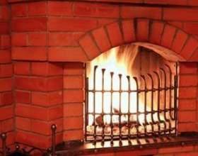 Comment mettre à jour une cheminée en briques rouges фото