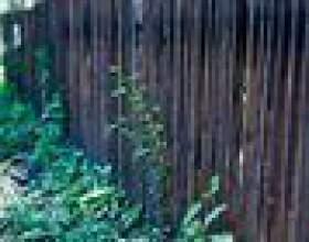 Instructions pour la construction d`une clôture en bois фото