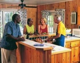 Cuisine idées lambris de décoration фото