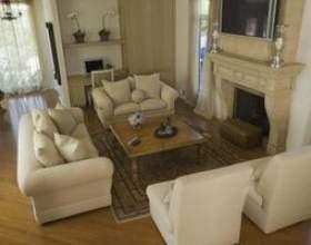 Mise en place des meubles dans un petit salon фото