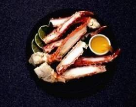 La durée de conservation des pattes de crabe фото