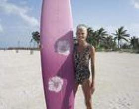 Artisanat surfboard pour les enfants фото