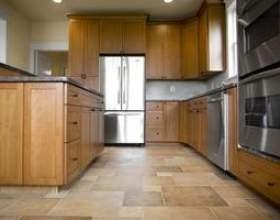 Les meilleures options pour le plancher de la cuisine фото