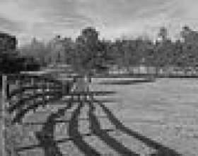 Types de clôtures pour les ranchs фото