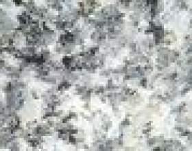 Types de roche ignée intrusive avec de grands cristaux фото