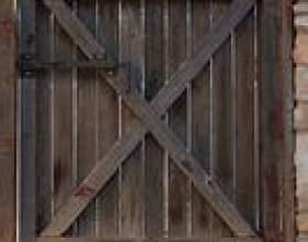 Types de portes en bois фото