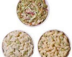Utilise pour la salade de macaroni restes фото