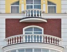 Vinyle vs poudre enduit balustrades de pont en aluminium фото