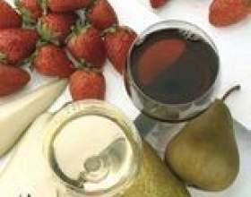Quel vin paires de fraises au fromage? фото